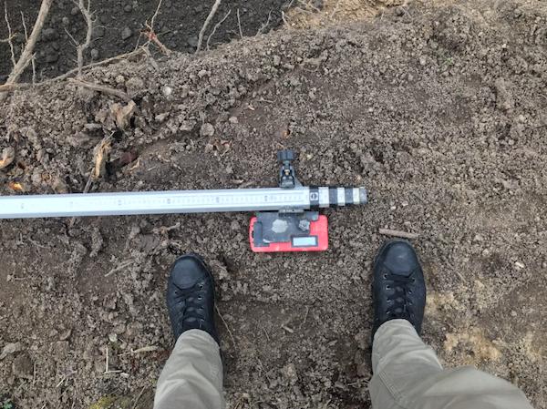 Ein Messgerät für Baustellen