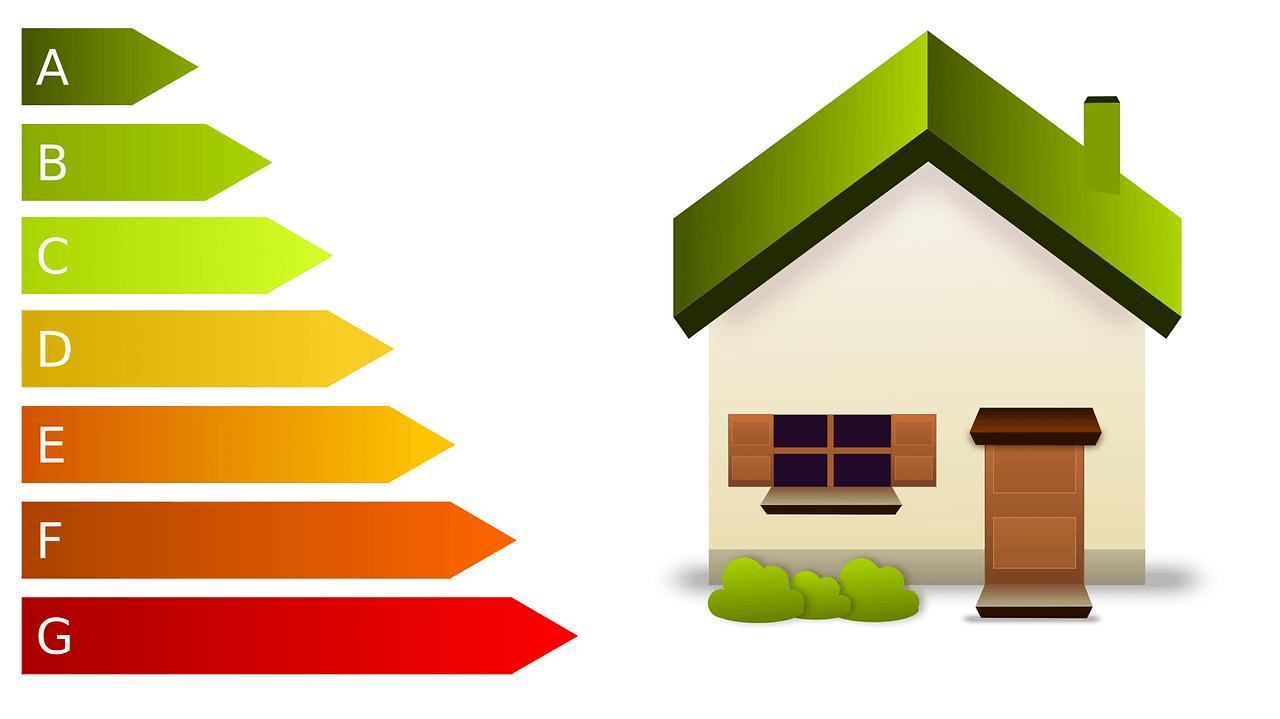 Haus das Energie spart