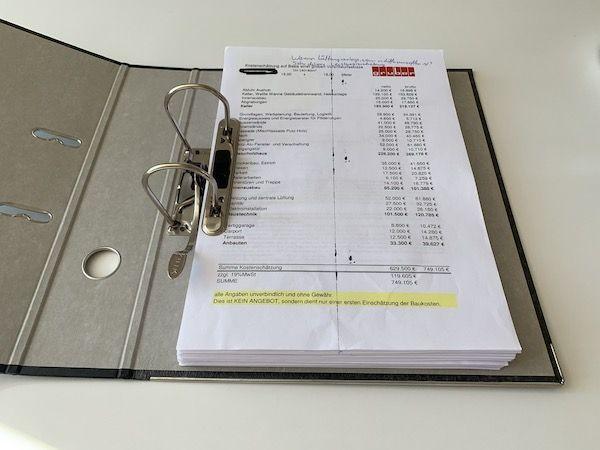 Unterlagen des Unternehmens Gruber