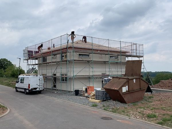 Baustelle von Keitel