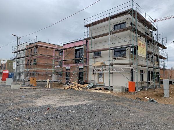Neuer Bau eines Hauses