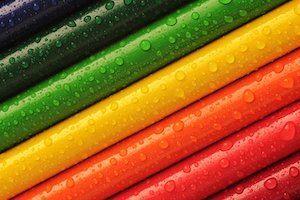 Welche Farbe hält auf Plastik