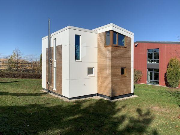 Ein Modulhaus Holz