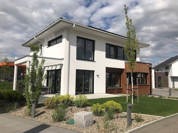 Ein Haus in modularer Bauweise