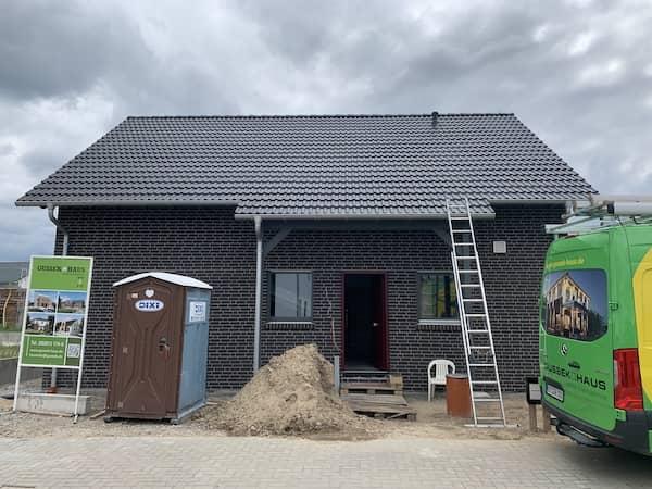 Ein Neubau von Gussek