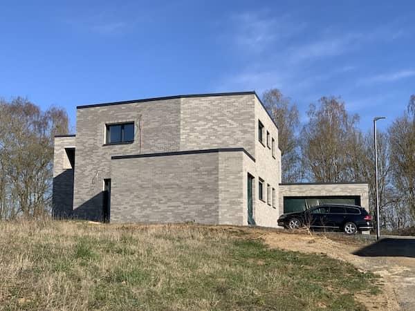 Ein Klinkerhaus
