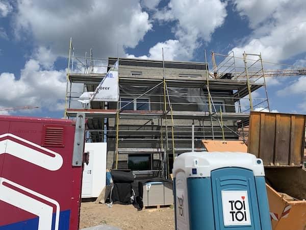 Baustelle von Schwörer Haus