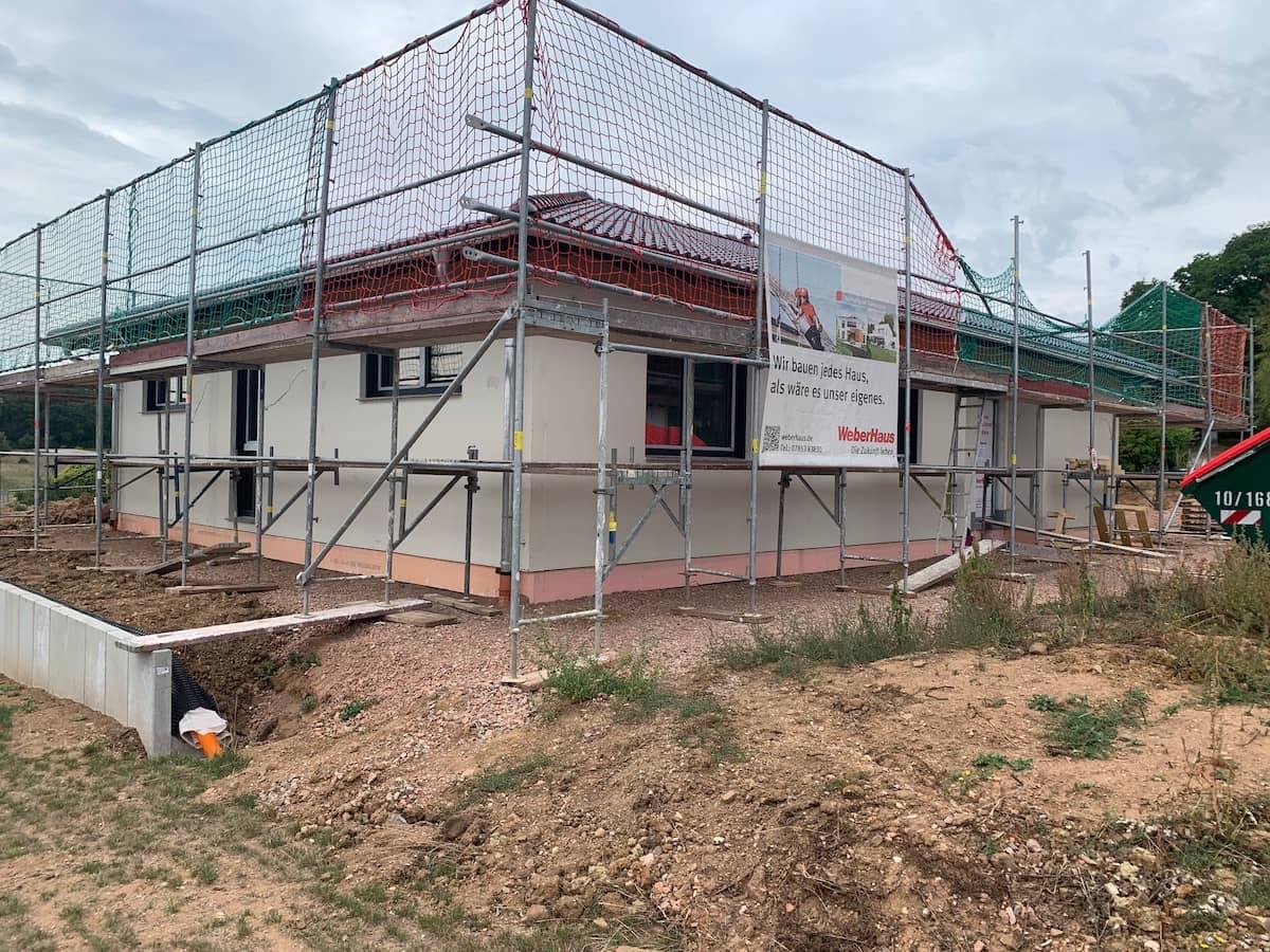 Eine Baustelle von Weber Haus