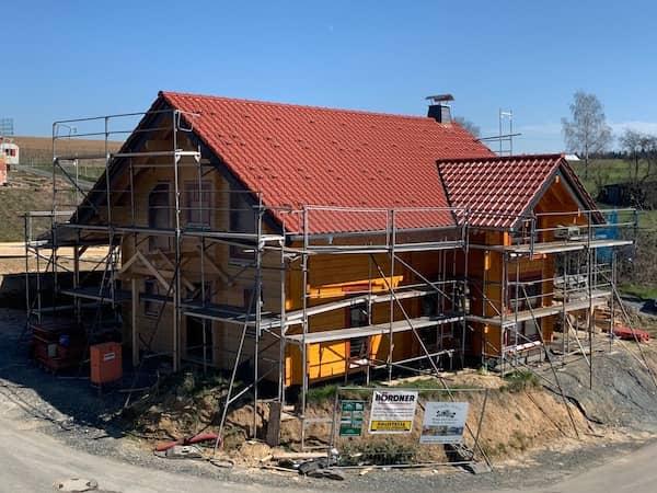 Gelbes Blockhaus