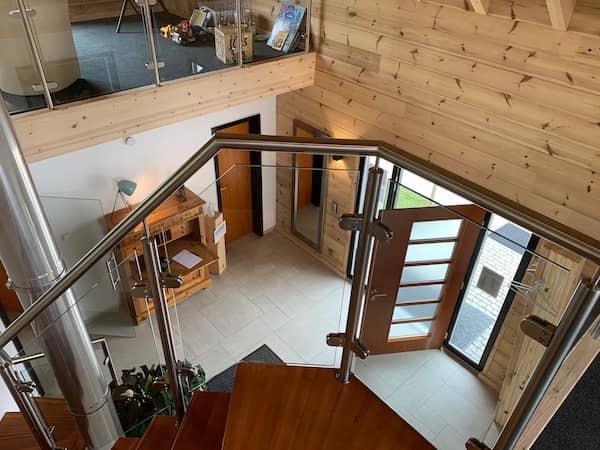 Ein Fullwood Haus von innen