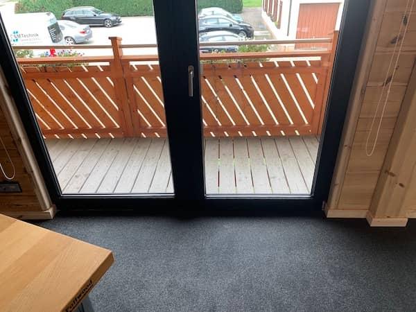 Ein Fenster in einem Fullwoodhaus