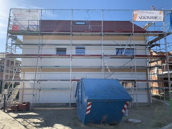 Ein Neubau