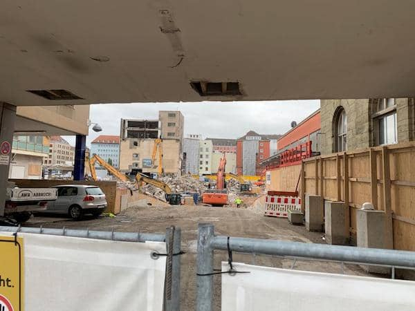 Polnische Fertighaus Baustelle