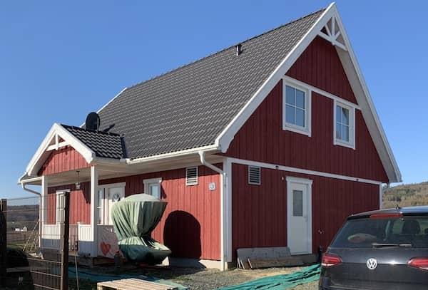 Ein klassisches Schwedenhaus