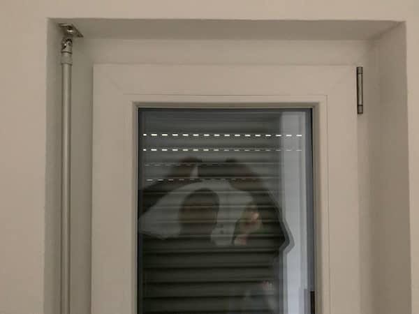 Ein Fenster in einem BienZener Haus