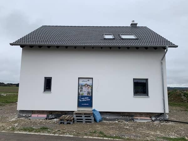 Eine Baustelle von Allkauf Haus