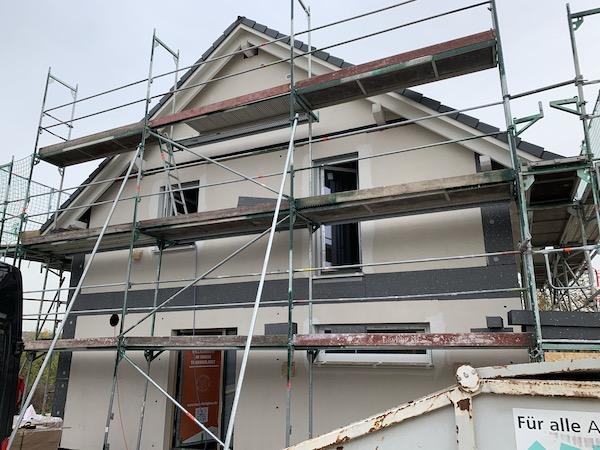 Haas Haus Baustelle
