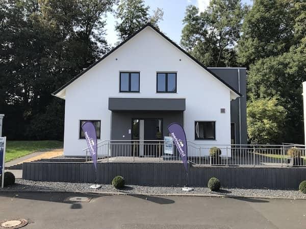 Ein Haus der Firma Schwabenhaus