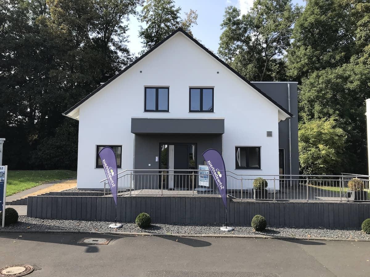 Ein Musterhaus der Firma Schwabenhaus